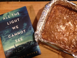 Homemade brownies & a good read for a cold day!